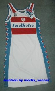 Washington Wizards NBA Jersey Dress New $90 Size L