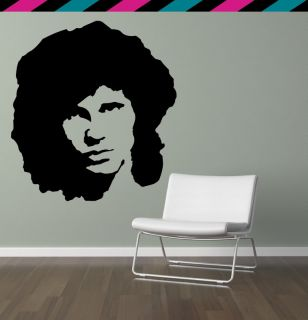 Jim Morrison The Doors Classic Rock Strange Days Wall Decal Sticker
