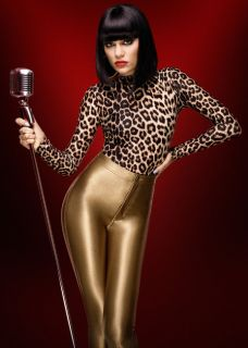 Gold Caramel American Apparel Disco Pants Jessie J Leggings