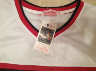 Chicago White Sox Carlton Fisk Throwback Jersey 54 2X