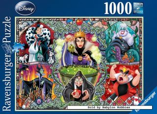 Ravensburger 1000 pieces jigsaw puzzle Disney   Wicked Women (192526