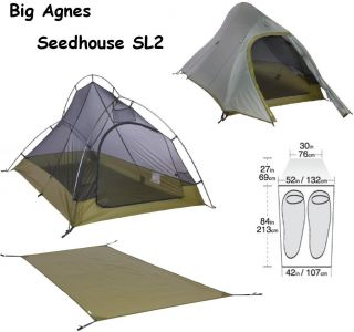 ... Big Agnes Seedhouse SL2 SUPERLIGHT Tent + FOOTPRINT Jerry 408 834 8427 ...  sc 1 st  PopScreen & Big Agnes Footprint For Big House 6 Person Tent