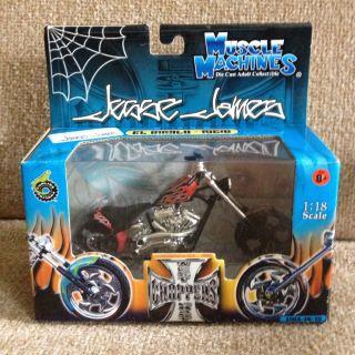 Jesse James Muscle Machines Red El Diablo Rigid West Coast Choppers