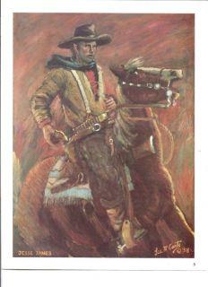 Cowboy Jesse James Large Print by Lea F McCarty