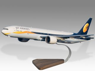Boeing 777 300ER Jet Airways Desktop Airplane Model
