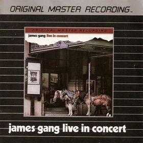 James Gang Live in Concert Mobile Fidelity MFSL Silver Disc CD Joe