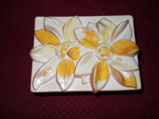 Brayton Laguna Pottery Coffin Jewelry Box Circa 1943