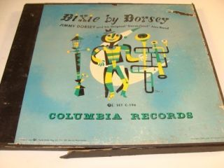 Columbia Records Dixie by Dorsey Jimmy Dorsey 78 Record V B255