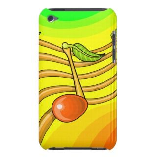 Fruit notes barely there iPod cases