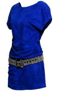 Jimmy Choo for H M Blue Suede Dress Size Small s Sold Out Limited