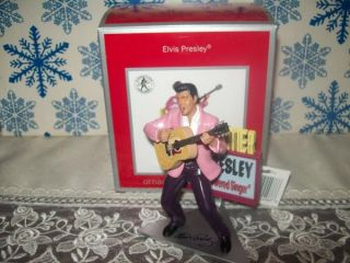 carlton cards american greetings musical ornament elvis presley press