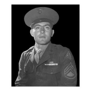 John Basilone    Medal of Honor Recipient Posters