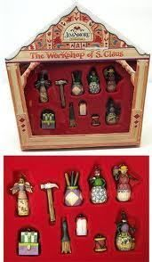 Jim Shore Heartwood Creek Santa Workshop Ornaments S10