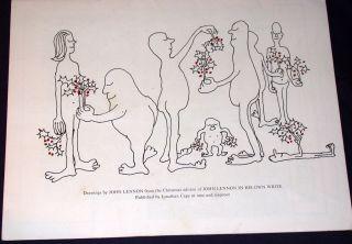 1964 BEATLES ODEON THEATRE CHRISTMAS SHOW TOUR CONCERT PROGRAM, RARE