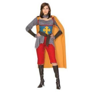 Saint Joan of Arc Medieval Knight Womens Costume New