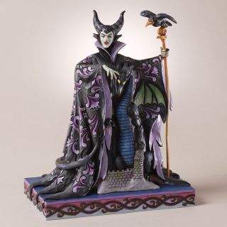 Jim Shore Disney Sleeping Beauty Maleficent with Dragon New