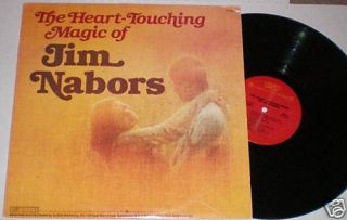 Jim Nabors The Heart Touching Magic of Jim Nabors LP