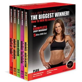 Jillian Michaels The Biggest Winner Complete 5 DVD Set