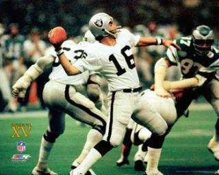 Jim Plunkett Super Bowl XV Oakland Raiders Poster Print