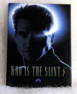 Movie Promo Pin The Saint Val Kilmer