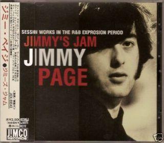 Jimmy Page Jimmys Jam Japan Only CD OBI LED Zeppelin