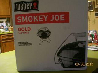 Weber Smokey Joe Charcoal Portable Grill BBQ Traveling Cookouts