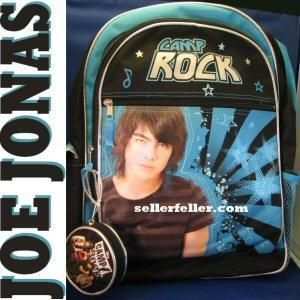 Camp Rock Shane Backpack Bag Joe Jonas Brothers Bonus