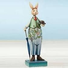 Jim Shore Heartwood Creek Gentleman Bunny New Easter