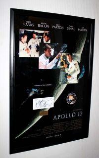 James Lovell, TOM HANKS, BACON, PAXTON Signed APOLLO 13, COA, UACC