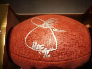 Joe Gibbs Autographed Official NFL Football