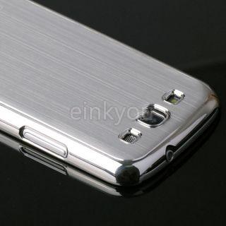 Aluminum Chrome Hard Case Cover for Samsung Galaxy S3 III GT i9300