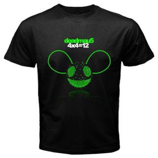 Joel Thomas Zimmerman Deadmau5 4x4 12 Men or Women Black T Shirt Size