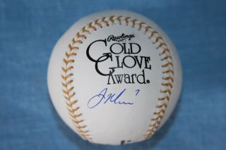 Joe Mauer Signed Rawlings Official Gold Glove Baseball Minnesota Twins