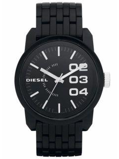 DZ1523 New Diesel Men XL Dial Analog Black Band Watch