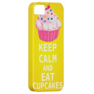 KEEP CALM AND Eat Cupcakes iPhone 5 case iPhone 5 Covers
