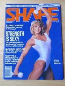 Joe Weider Shape Female Fitness Muscle Magazine MS Olympia Cory