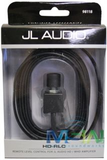 JL Audio® HD RLC Amp Remote Level Control for HD XD MHD M Series Car