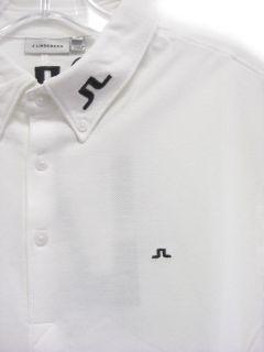 Lindeberg Golf Rubi JL Tour BD Polo Shirts White Small