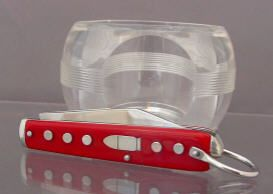 The Lone Ranger Silver Bullet Knife Red Handles