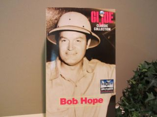 1998 GI Joe Classic Collection Bob Hope Doll Hollywood Heroes Action