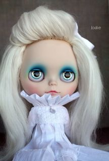 Blue Custom OOAK Blythe Doll by Jodie♥dolls