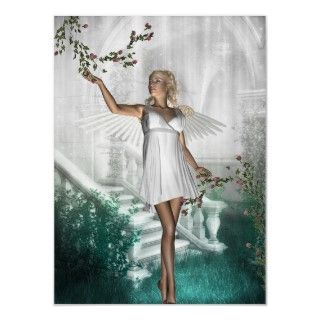 Poster Art Fantasy White Angel Fairy