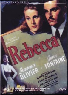 Rebecca Joan Fontaine Laurence Olivier New SEALED DVD
