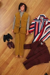 Vtg 60s Barbie Ken Doll Lot Gi Joe Skipper TNT Francie Black Julia