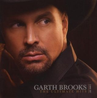 Garth Brooks Ultimate Hits 3 Disc CD DVD George Jones Huey Lewis Steve