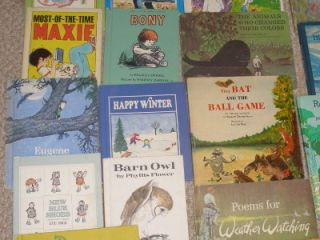 40 Childrens Vintage Hardcover Picture Books 1965 Up
