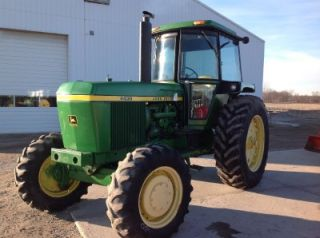 John Deere 4430 Front Wheel Assist Tractor Hard to Find Collector