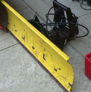 John Deere 54 Blade Snow Plow Model 1490 Model 4100 Front Hitch