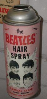 BEATLES REPROD. HAIR SPRAY CAN PAUL MCCARTNEY JOHN LENNON GEORGE