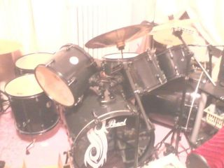 Joey Jordison Limited Edition 8 Piece Drum Set Cymbals EXTRAS